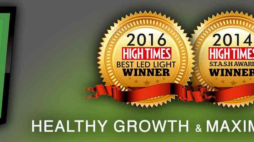 g8 LED High Times Award Winning Lights - Coupon Codes - Dorm Grow - Save On Cannabis