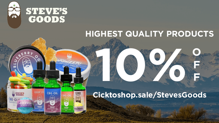 Steves Goods Coupon Code Online Discount Save On Cannabis