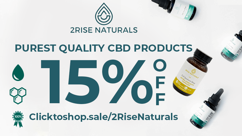 2 Rise Naturals Coupon Code - Online Discount - Save On Cannabis