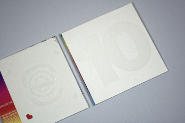 save or cancel CD 10 cover