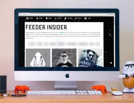 feeder.ro feeder insider interviews artists music