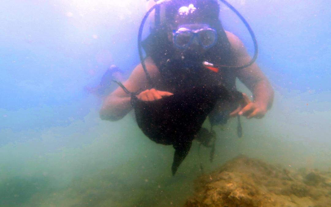 Dive Against Debris continues in Bangladesh's only coral habitat