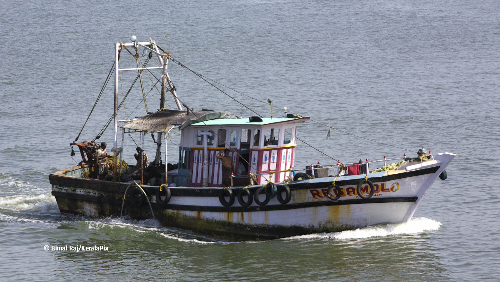 Managing marine fishing ban season in India