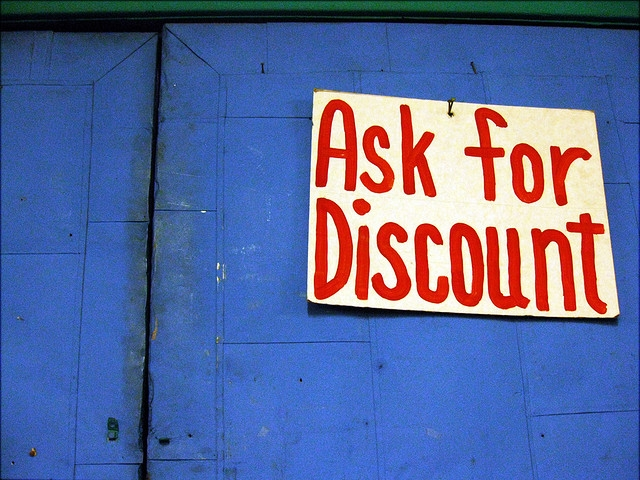 ask for a discount