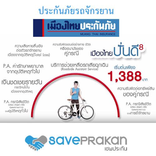 ประกันภัยรถจักรยาน