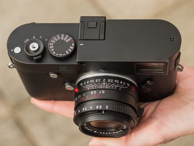 Cantiknya Kamera Monokrom Leica M Monochrom Typ 246