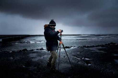 tripod dan fotografer