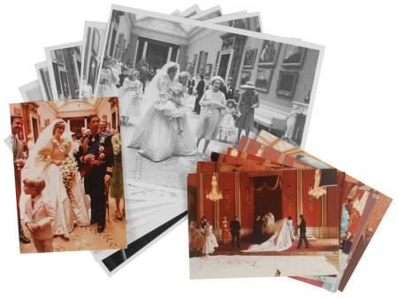 Foto Langka Pernikahan Putri Diana Dilelang Untuk Umum