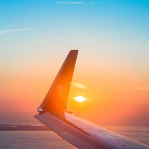 Tips Memotret Dari Jendela Pesawat