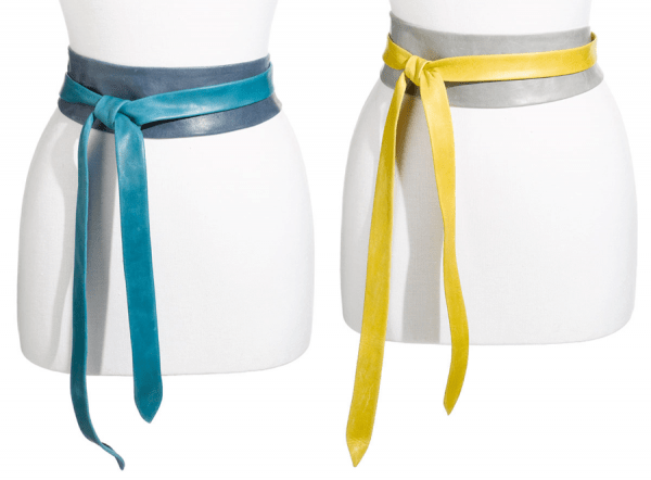 Ada-Two-Tone-Leather-Obi-Belt-Blue-and-Grey-with-Yellow