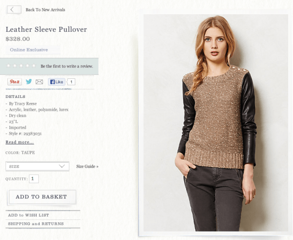 Anthropologie-Leather-Sleeve-Pullover
