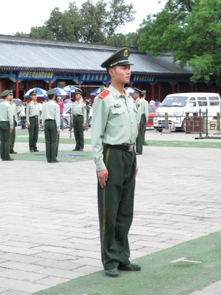 Beijing-China-Photograph-National-Uniform-Army