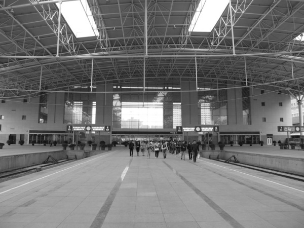 Beijing-China-Photograph-Train-Station