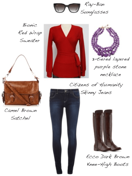 Closet-Wardrobe-Mochimac-Clothes-Set-Red-Wrap-Sweater-Bionic-Skinny-Jeans-Citizens-Dark-Boots-