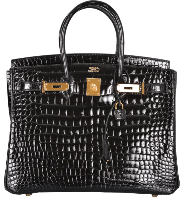 hermes-black-porosus-crocodile-35cm-birkin-bag-gold-hardware