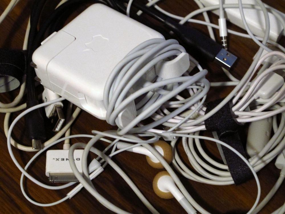 fd0de5a4954b How do you organize your cords and cables? | Save. Spend. Splurge.