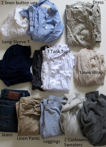 Hybrid-Minimalist-Packing-Trip-Travel-Clothes