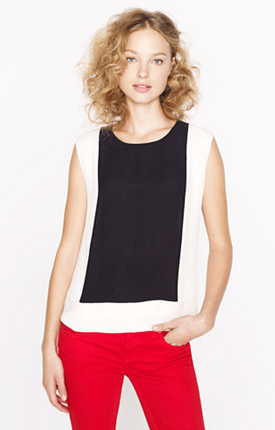 J-Crew-Colourblock-Silk-Navy-Ivory-Shell-Front
