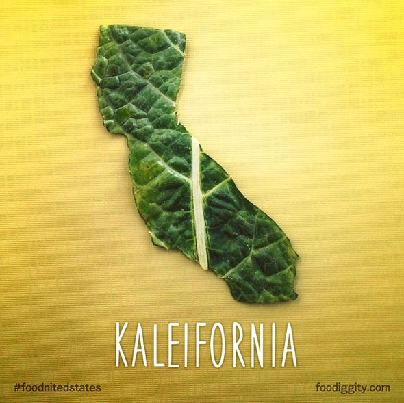 http://www.foodiggity.com/the-foodnited-states-of-america-a-pun-fueled-series-of-us-states-made-from-food/