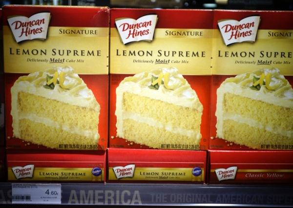 Madrid-Spain-Taste-of-America-Duncan-Hines-Lemon-Cake-Mix