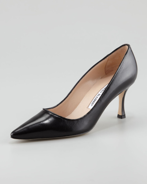 Manolo-Blahnik-Newcio-Black-Pump