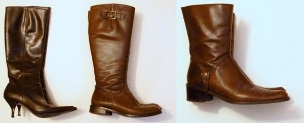 Mochimac-Boots-Knee-High-Leather-Short-Kitten-Heel-Flat