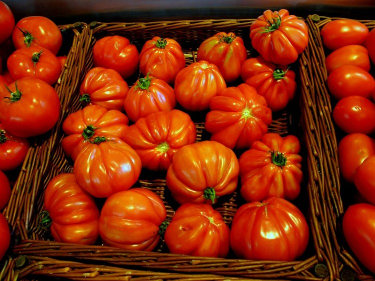 Photograph-Real-Tomatoes-Heirloom-Food