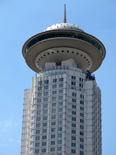 Shanghai-China-Photograph-Strange-Skyscraper-Topping-UFO