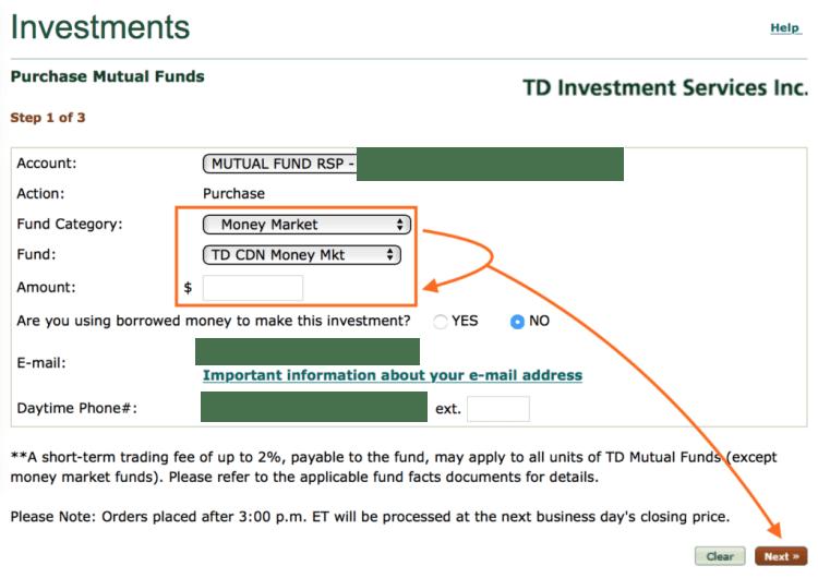 td-canada-trust-e-series-buying-faq-help-money-market-confirm
