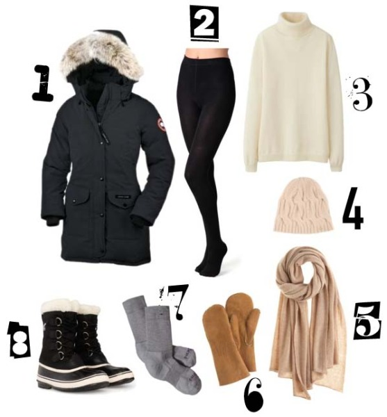 Winter-Essentials-Sub-Zero-Temperature-Clothing-Accessories