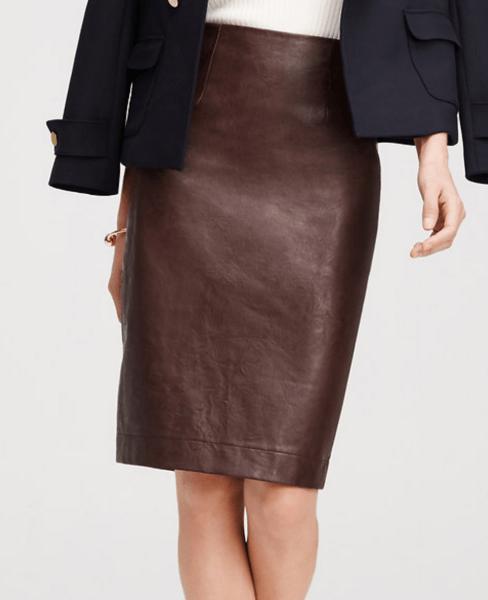 ann-taylor-faux-leather-skirt-burgundy