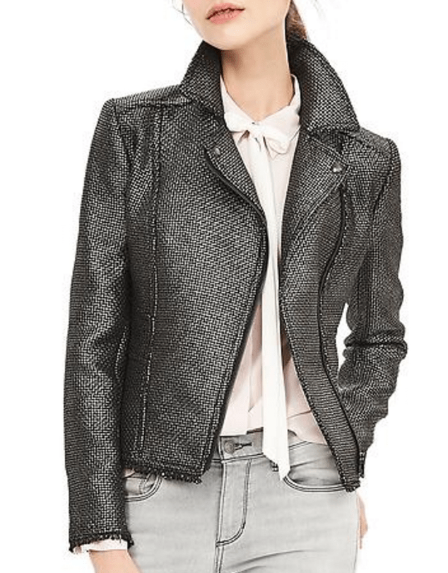 banana-republic-save-spend-splurge-review-metallic-tweed-moto-jacket