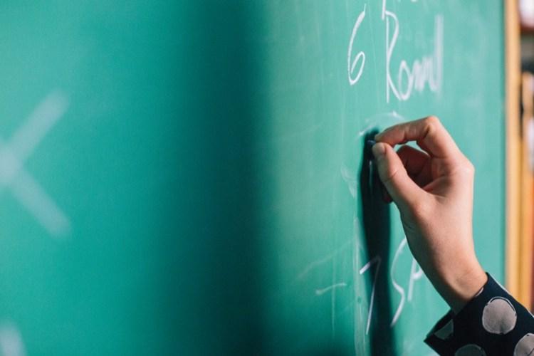 education-writing-blackboard