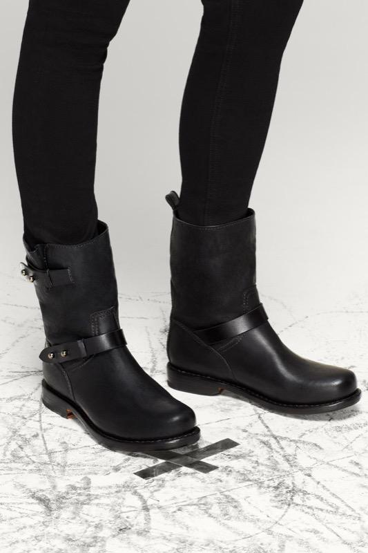 Rag and Bone Black Moto Boots