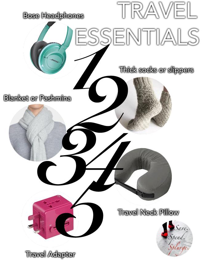 save-spend-splurge-Travel-Essentials-1-to-5-favourites