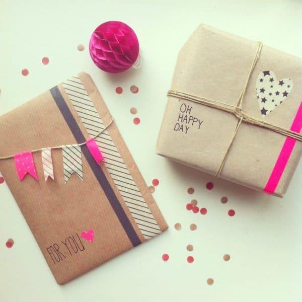 Ide DIY Des Emballages Cadeaux Uniques Et Originaux