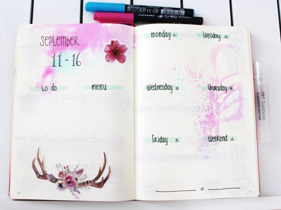 Ideeën voor in je bullet journal