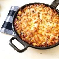 Koolhydraatarme lasagne ovenschotel zonder pasta