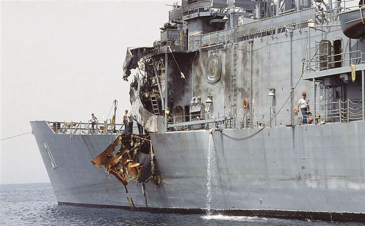 USS-Stark-hit-by-Exocet-missile-Gulf