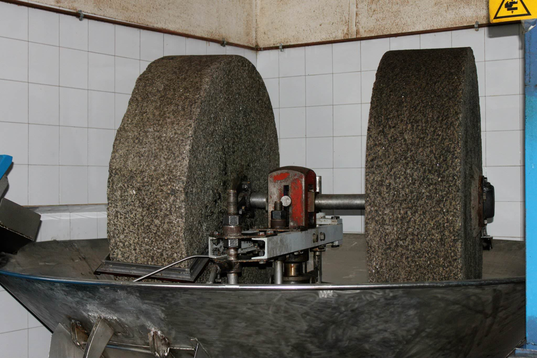 Moulin à huile d'olive traditionnel de Ligurie
