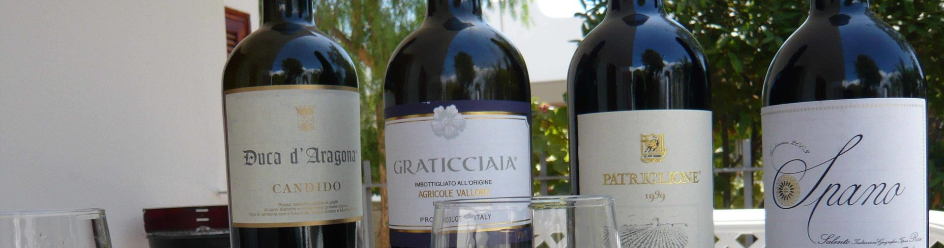 Wines from Puglia