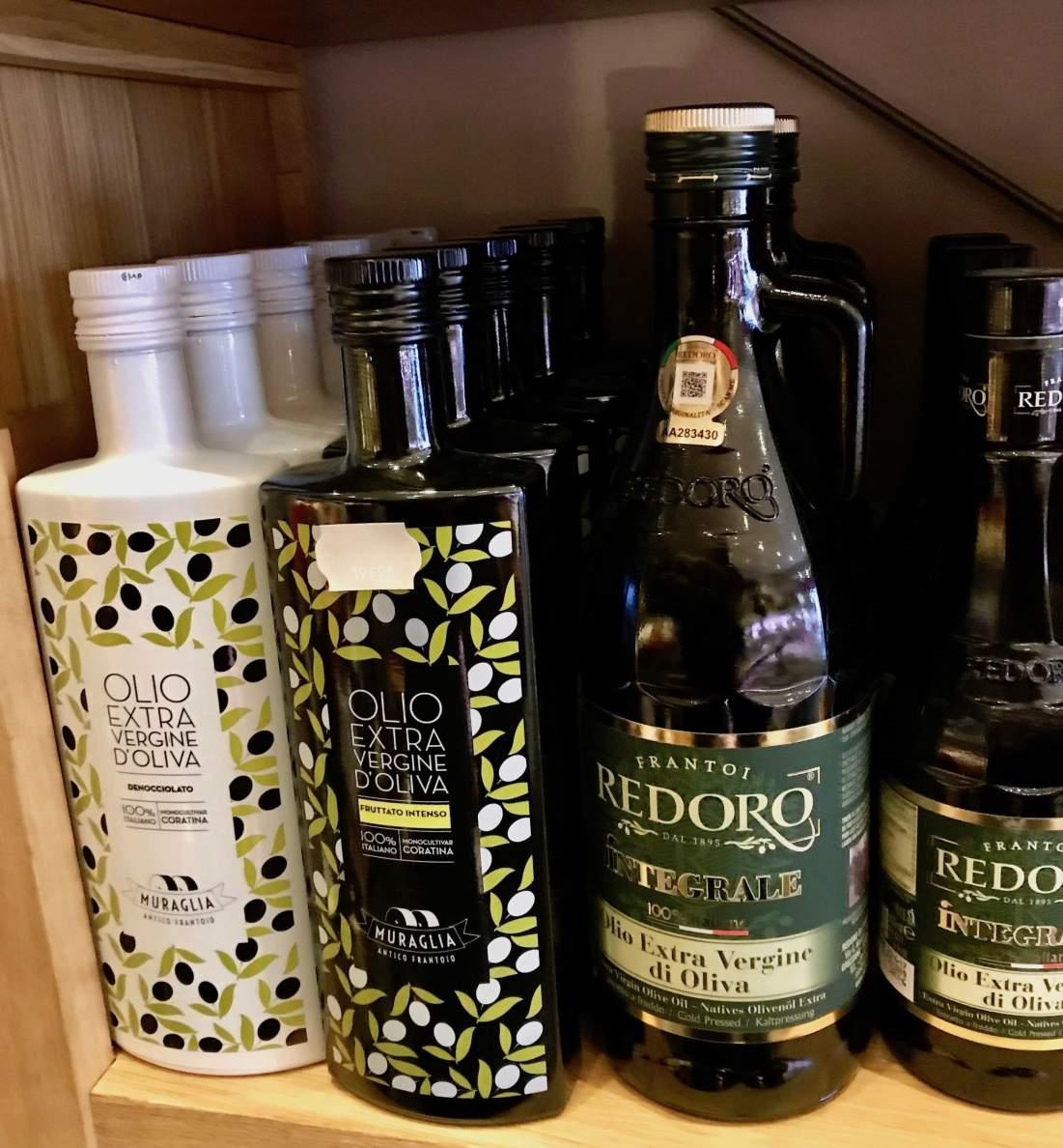 Olio d'oliva di Puglia