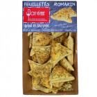 Feuilletés romarin sel de guérande pur beurre