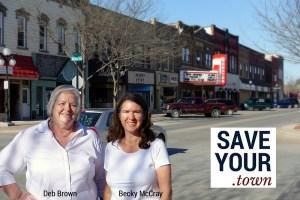 Deb Brown, Becky McCray, SaveYour.Town
