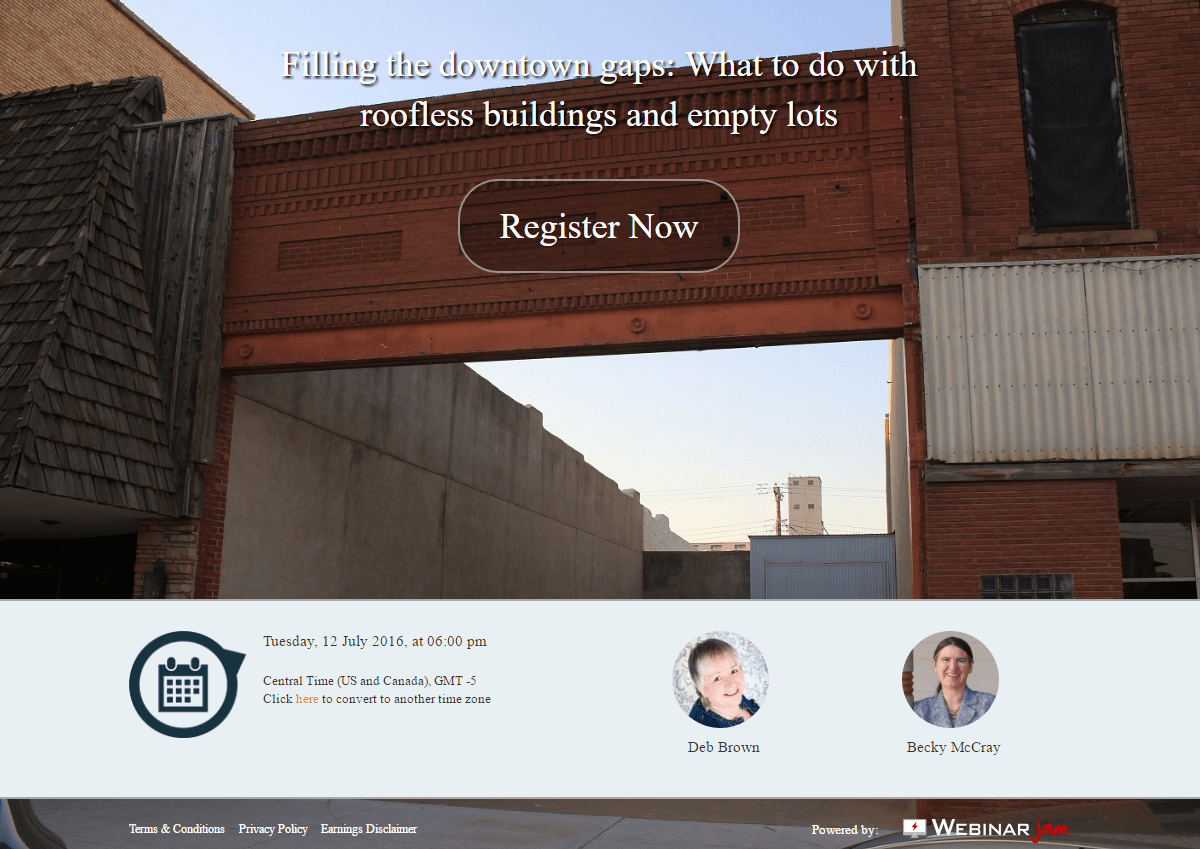 Filling the Gaps webinar