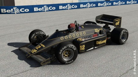 Project C.A.R.S. : Lotus 98T