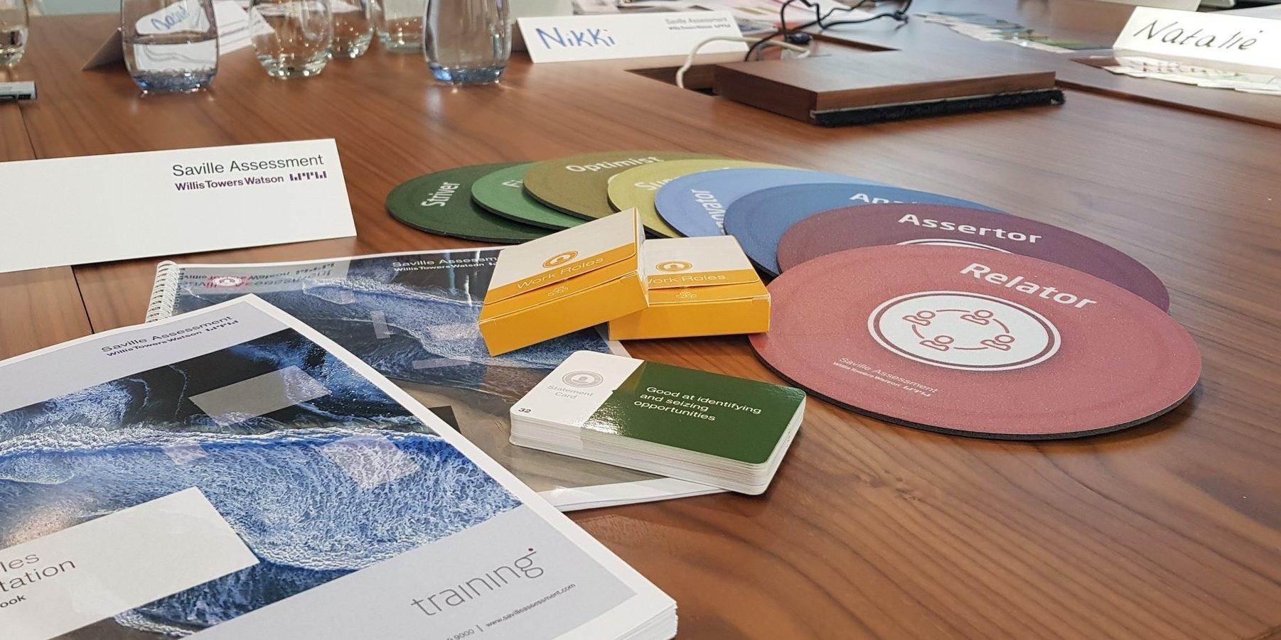 Work Roles Practitioner Workshop - Saville Assessment
