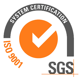 ISO 9001 certificate badge