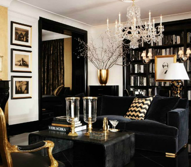 30 Black White Living Rooms That Work Their Monochrome Magic: Living Room Design Ideas With Black Furniture