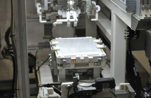 Einblick in die Nissan Batteriefabrik in Sunderland - Foto: Nissan